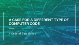 A Case for a Different Type of Computer Code