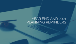 Year-End and 2021 Planning